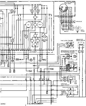 Wiring Diagram Type 944944 turbo Model 852 page 4