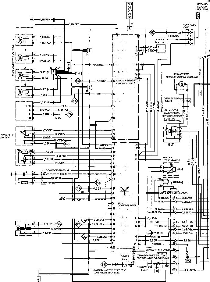 wiring diagrams for 1989 porsche 944