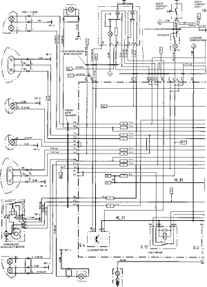 Wiring Diagram Type 944944 turbo 944 S Model 87  Porsche