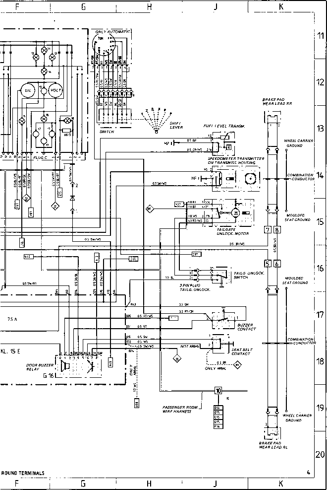 Porsche 928 Fuel System Diagram likewise 1980 Porsche 911 Wiring Diagram furthermore Wiring Diagram Type 924 S Model 87 Sheet Porsche 944 Electrics together with 1978 Porsche 924 Fuse Box Diagram besides Vacuum Hose12 p 133713. on 1984 porsche 911 parts diagram