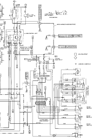 Wiring Diagram Type 944944 turbo 944 S Model 87  Porsche