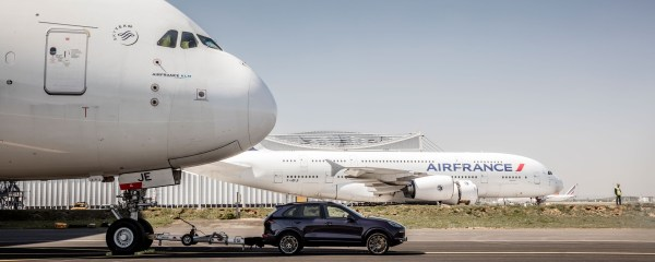 Porsche Pulls The Largest Passenger Aircraft In The World ...