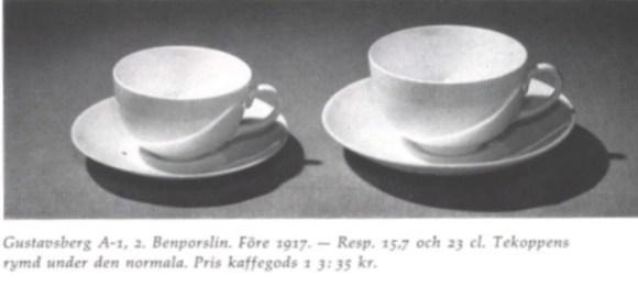 A, (kaffe och tekopp), 1917