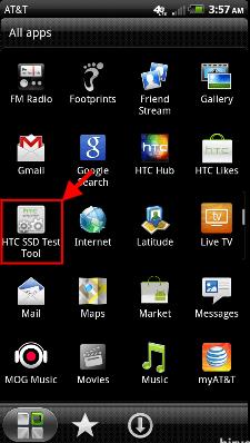 HTC SSD Test Tool
