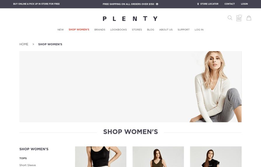 Plenty Shopify Plus Development