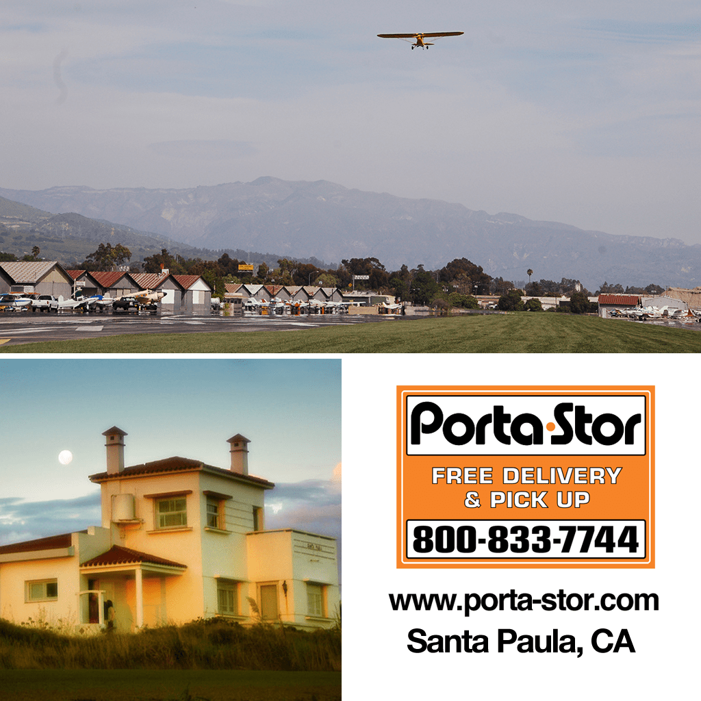 Rent Portable Storage Containers in Santa Paula