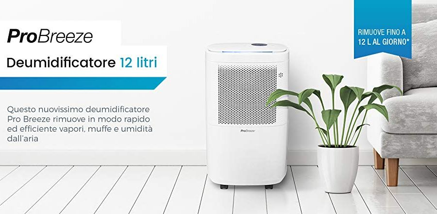 Dehumidifier Pro Breeze 12L