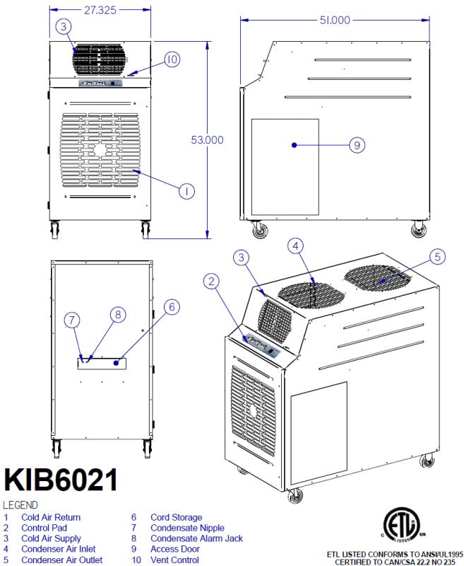 KwiKool KIB6021-2 Diagram