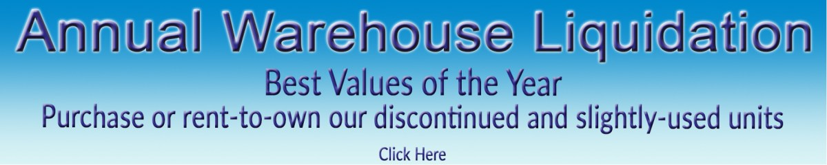 Annual Warehouse Liquidation Home Page banner