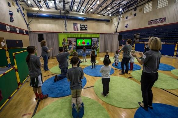 Portable Church children's ministry