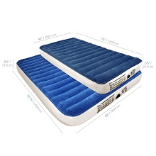 Strong Soundasleep Camping Series Twin Or Queen Air Bed Mattress With Pump Designed For Durability When