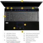 Cizmo X8100 - clavier