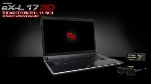 MAINGEAR eX-L 3D - Clevo P170HM