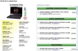 Alienware M18x OP-RENTREE Dell