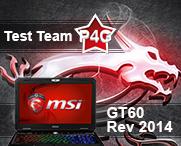 MSI GT60 2PE Test