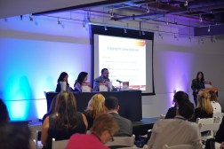 """Engaging the Latina Millennial"" panel"