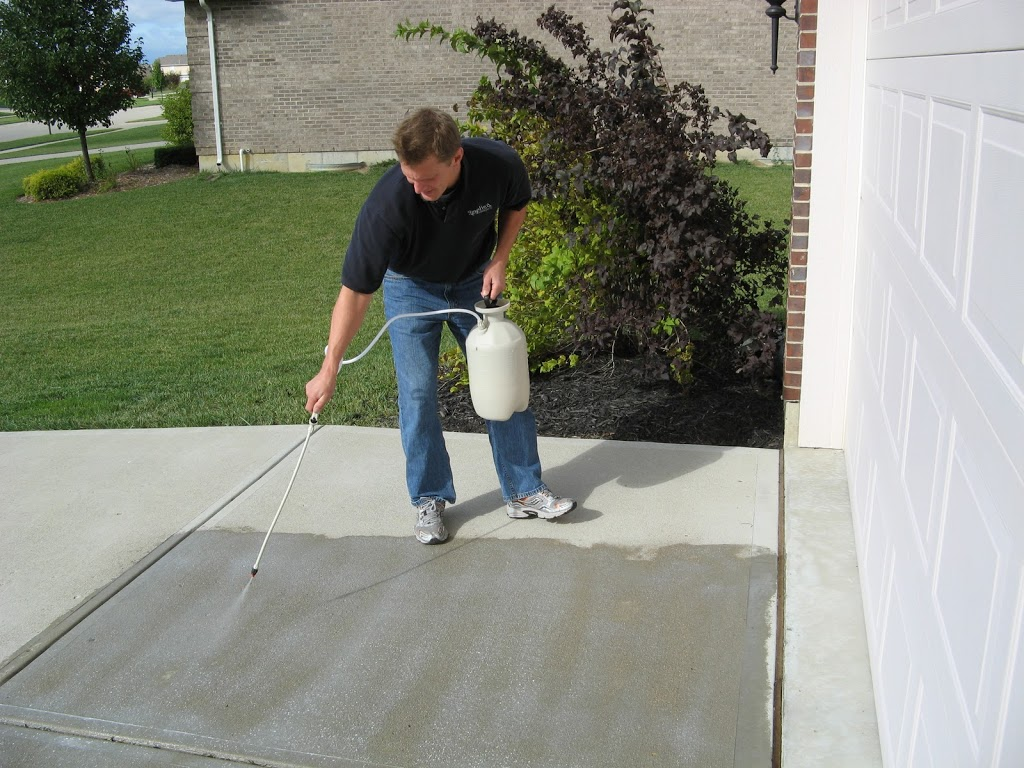 how to seal a concrete surface
