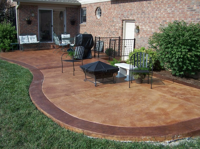 3 Reasons to Choose Concrete as Your Patio Surface | Port ... on Square Concrete Patio Ideas id=50865