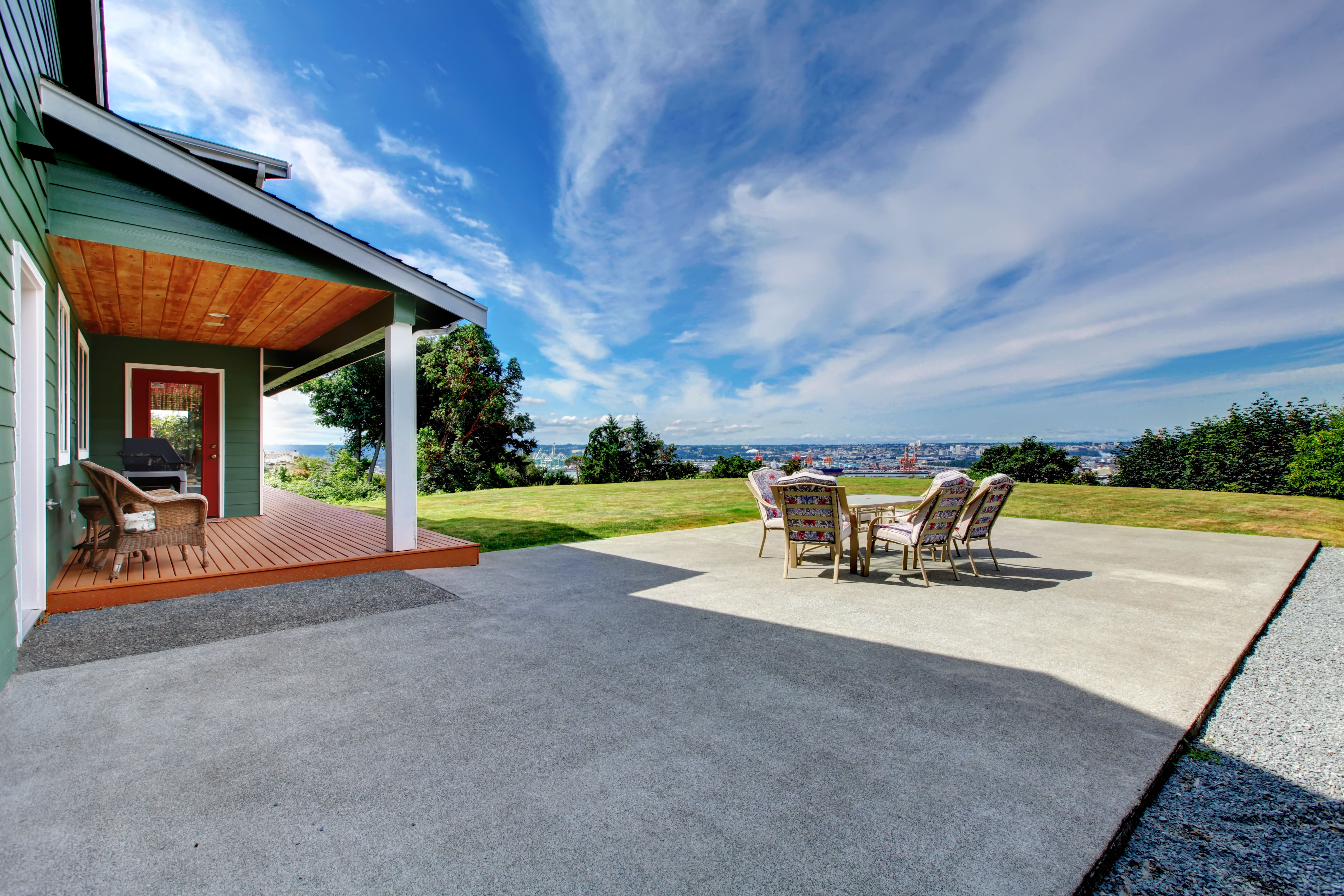 3 Reasons to Choose Concrete as Your Patio Surface | Port ... on Patio Designs  id=31919