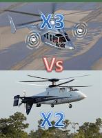 Sikorsky X2 VS Eurocopter X3: à toute vitesse !