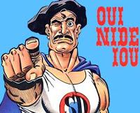 Aïe nide you !
