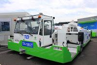 En direct du Bourget : Le TaxiBot, future réussite franco-israélienne.