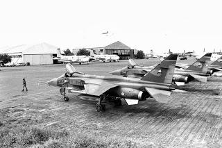 Les opérations aériennes de la France au Tchad de 1983 à 1988