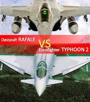 Dassault Rafale VS Eurofighter Typhoon2 2/2