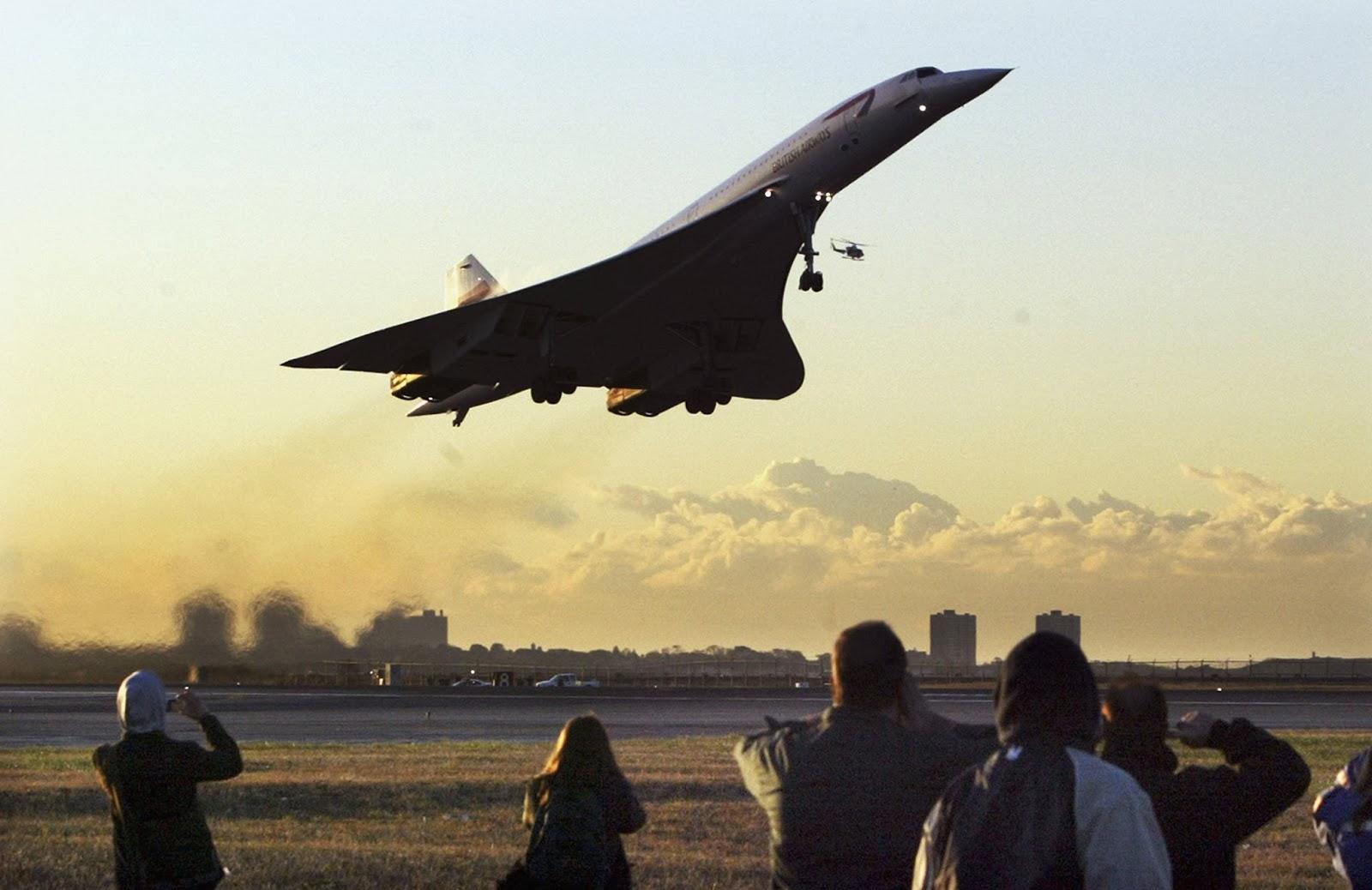 Nostalgie et Humour: Il y a 45 ans s'envolait le Concorde