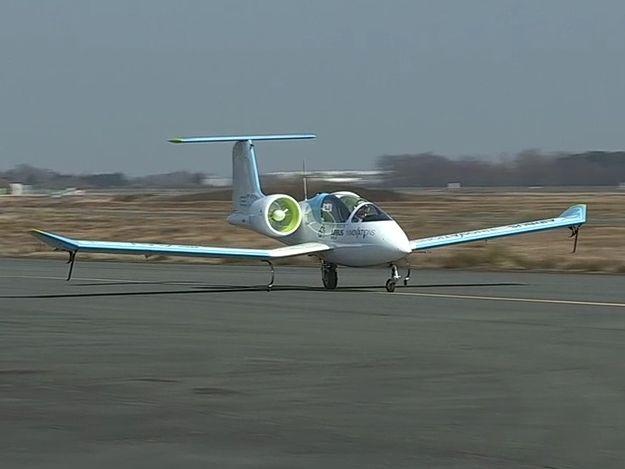 Lancement officiel de l'E-Fan, l'avion école tout électrique d'Airbus!