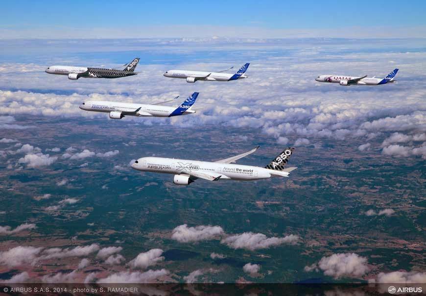 L'A350-900 a sa certification de type !