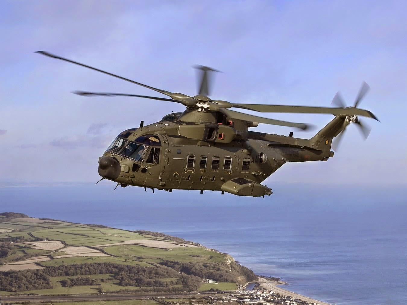 Crash d'un AW-101 Merlin Danois en Afghanistan