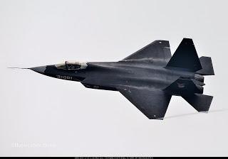 le FC-31, nouvel appareil chinois furtif paré pour l'export.