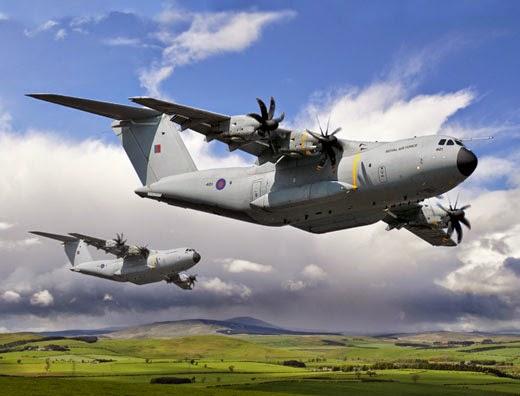 Le Royaume Uni reçoit son 1er A400M