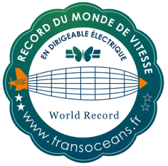 Écusson du record, Crédits : Transocéans