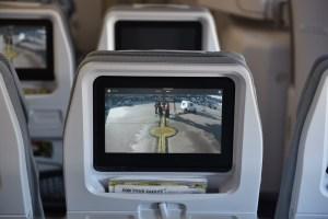 La deuxiéme camera, ici sur l'écran éco
