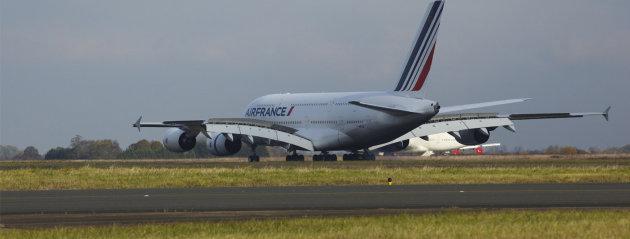 Arrivée A380 Mexico