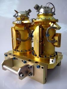 L'instrument T-SAGE constitué de ses deux accéléromètres