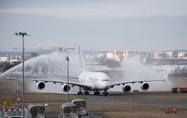 Le premier A380 à rejoindre un musée est arrivé au Bourget