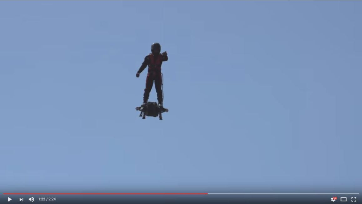 Vidéo du Flyboard Air en action