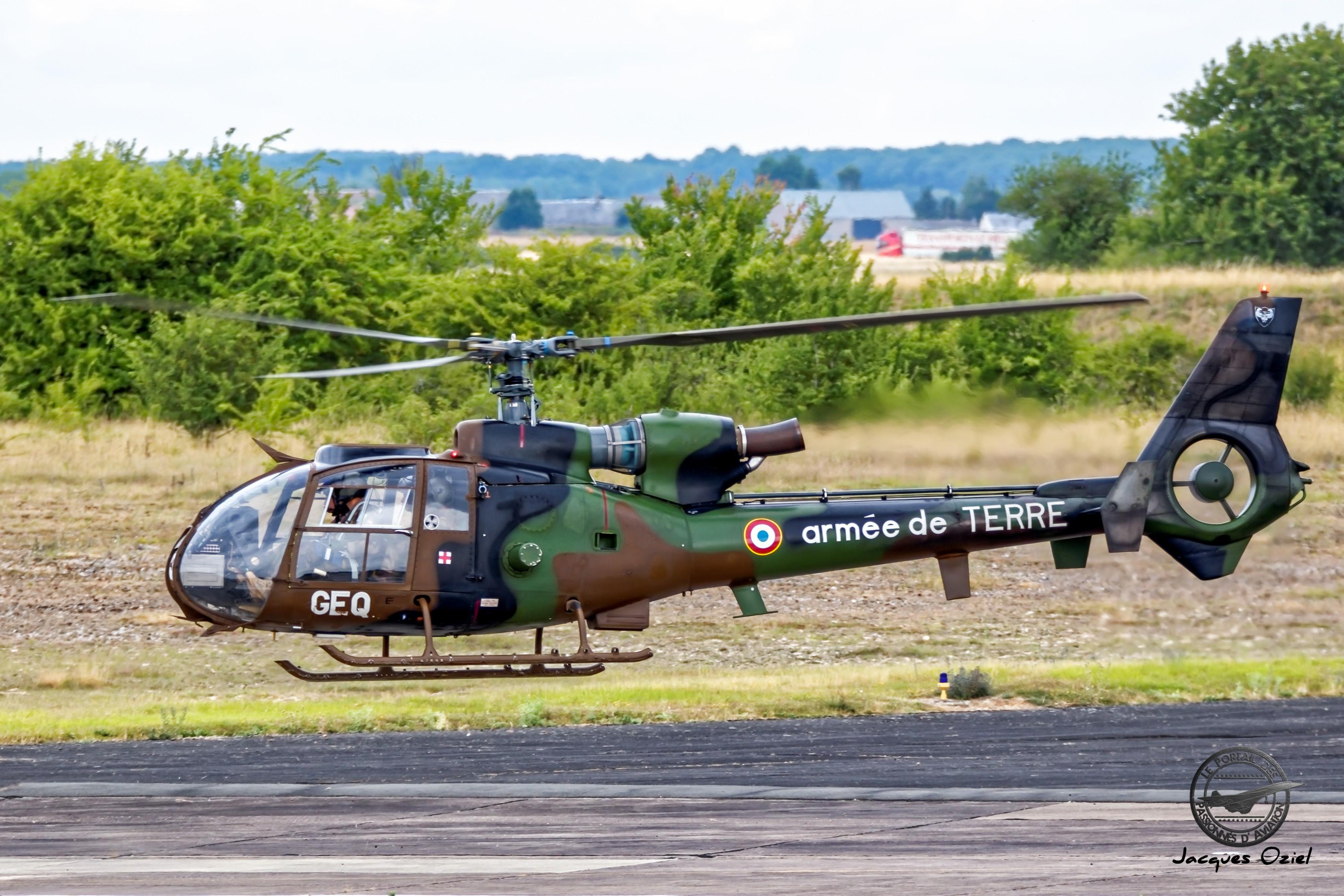 Hélicoptère SA342 Gazelle de l'ALAT