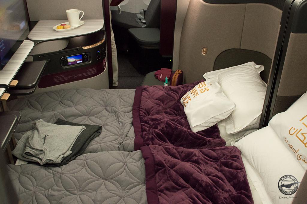 """Deux sièges en configuration """"lit double"""""""