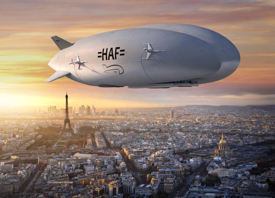 LMH-1 aux couleurs de Hybrid Air Freighters