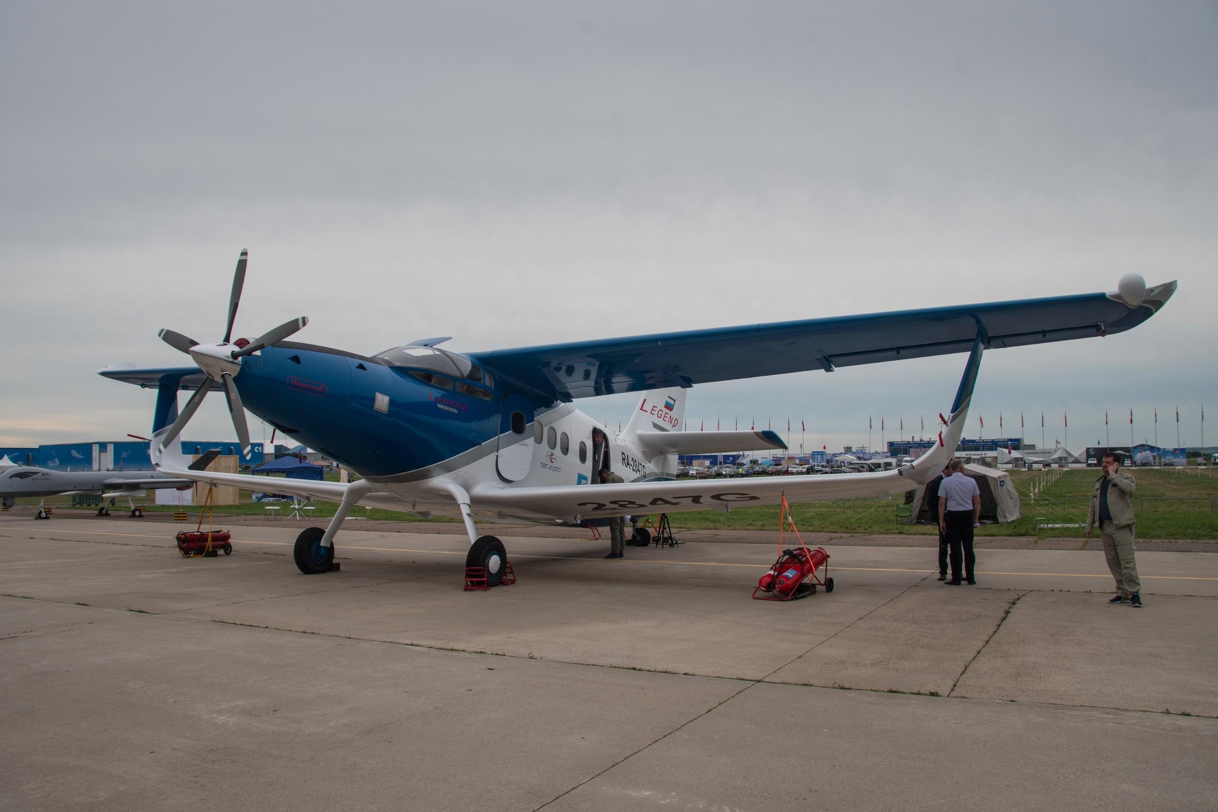 SibNIA (Institut de Recherche Aéronautique de Sibérie) TVS-2-DT, sur une base d'Antonov An-2 MC équipé de nouvelles ailes composites (sans entretoises ni cables), d'une nouvelle dérive en composite aussi, et d'un turbopropulseur Honeywell TPE331-12UHR de 820 kW (1 100 ch).