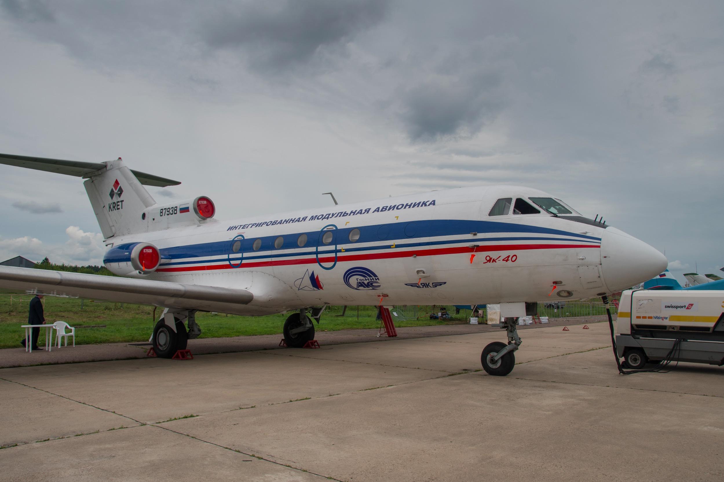 """Yakovlev Yak-40 K """"Coding"""""""