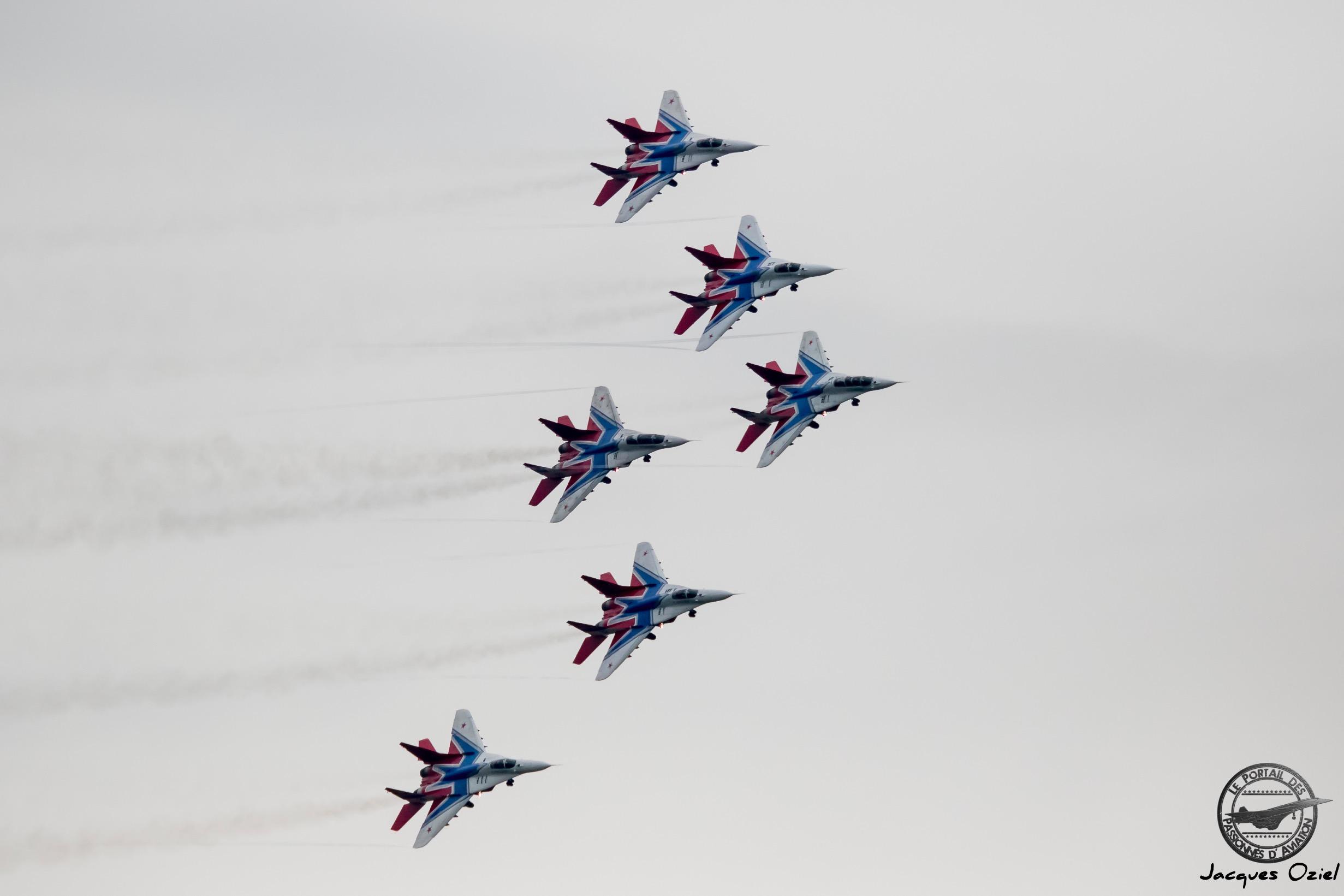 MiG-29 du 237th Centre de Démonstration d'Avions des Gardes Proskurov basé à Kubinka.