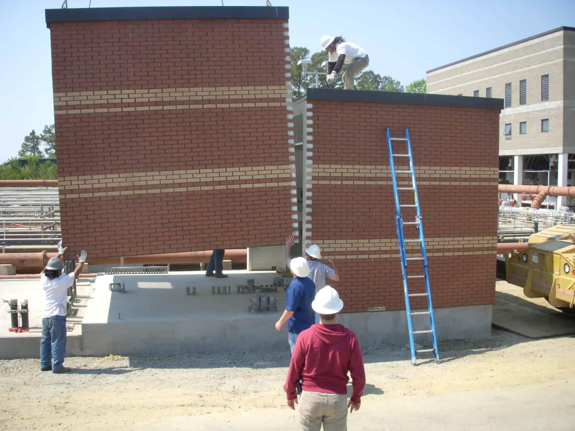 Outdoor Equipment Enclosures Gallery   Porta-King Building ... on Outdoor Water Softener Enclosure  id=90077