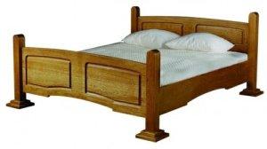 rustikální postele