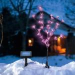 Solární světelný stromeček Esotec