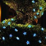 Solární LED řetěz Cole & Bright hvězdy